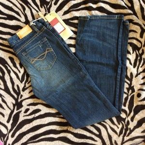 Mossimo supply co. boot cut denim jeans sz 1S,NWT